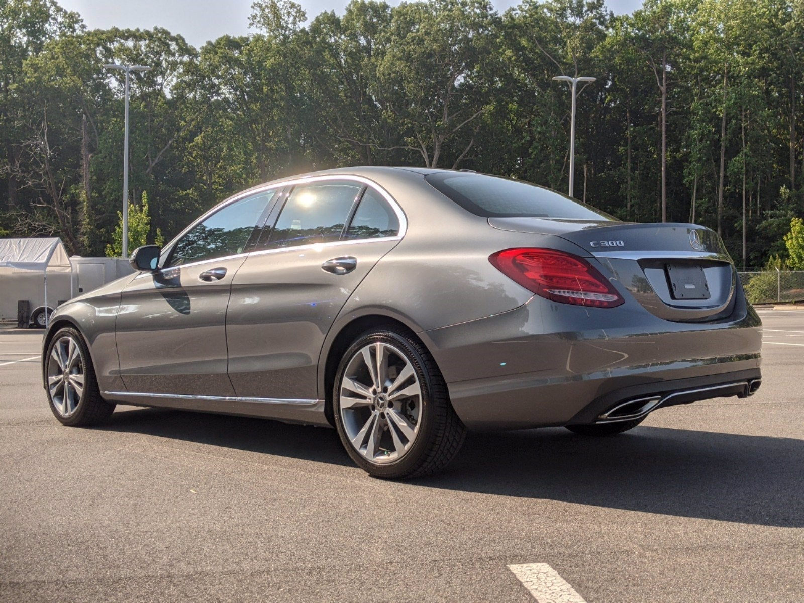 Used 2018 Mercedes Benz C Class For Sale Raleigh Nc 55swf4jb6ju267161