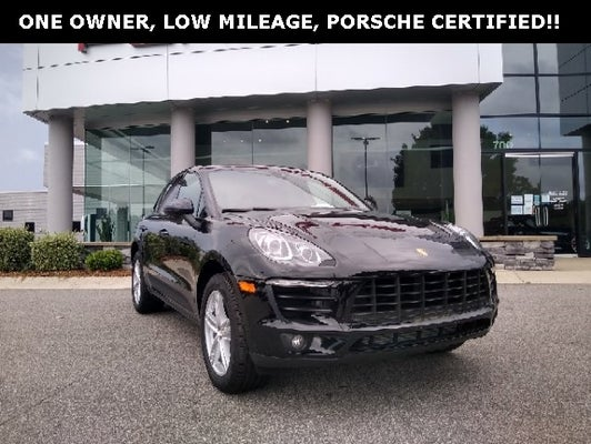 Used 2018 Porsche Macan For Sale Raleigh Nc Wp1aa2a58jlb09876